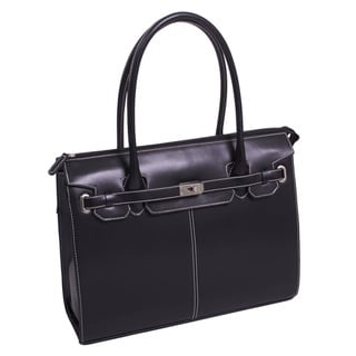McKlein Women's 'Francesca' Faux Leather Ladies' Laptop Tote