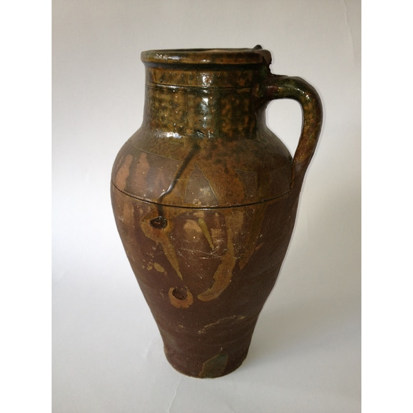 One Handle Clay Oil Jar (Turkey)