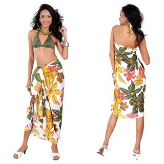 Tropical Floral Sarong (Indonesia)