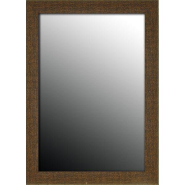 18x36 Roman Copper Bronze Chain Mirror