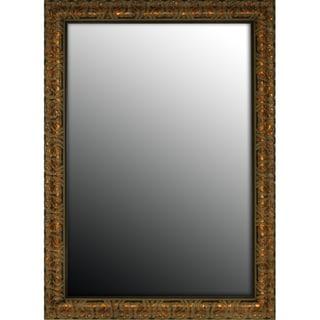 18x36 Olde World Copper Mirror