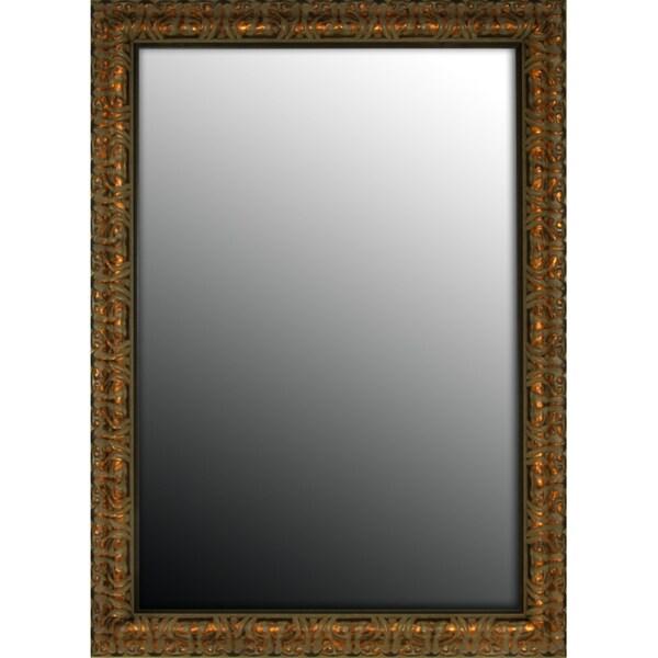 36x46 Olde World Copper Mirror 10383066