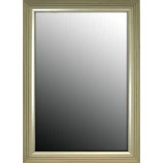 18x36 Stepped Silver Petite Mirror