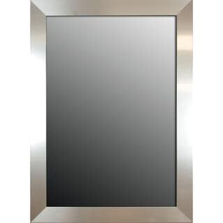 Brightly Polished Silver 42x30-inch Mirror