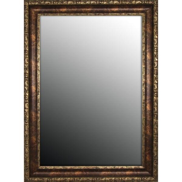 Austrian Decor Coppertone Finish 37x47-inch Mirror