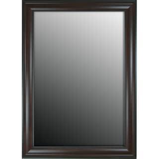 Furniture Fashioned Mahogany Finish 17x35-inch Mirror