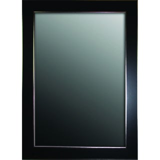 Black Forest With Silver Edged Trim 24 x 60 Mirror