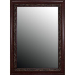 Birds Eye Cherry Gold Accents Mirror (25 x 61)