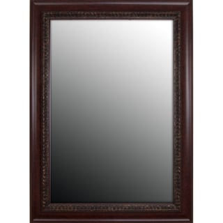 Birds Eye Cherry Gold Accents Mirror (31x43)
