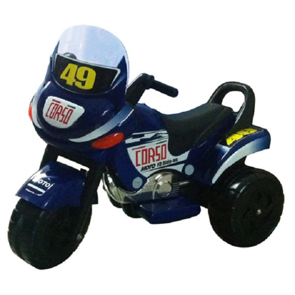 Mini Racer Ride-on Motorcycle (Blue)