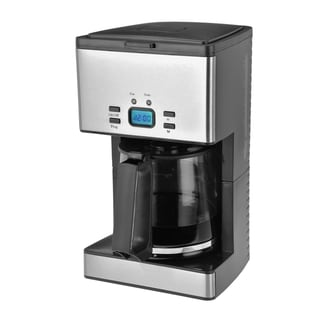 Kalorik Stainless Steel Programmable 12-cup Coffee Maker
