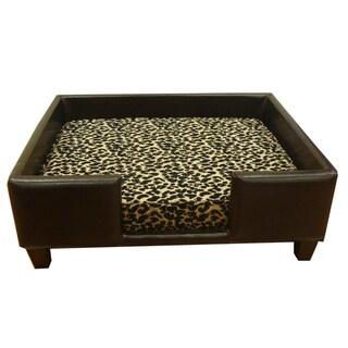 Luxury Cheetah Print Pet Bed