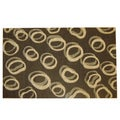 Modern Deco Chocolate Contempo Rug (5'2 x 7'2)
