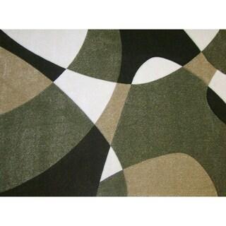 Modern Deco Fume Universe Rug (7'9 x 10'5)