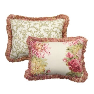 Rose Tree English Romance 11x15 Decorative PIllow
