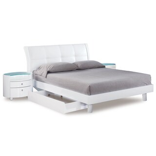 Evelyn White Queen Bed