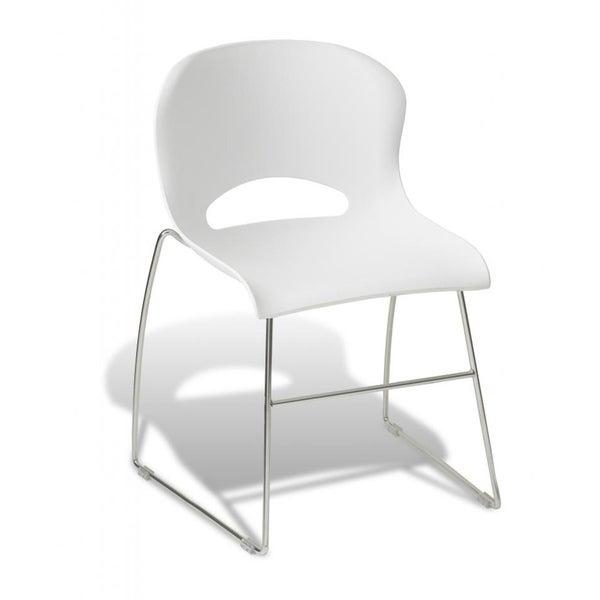 Jesper Office White Dining Chair