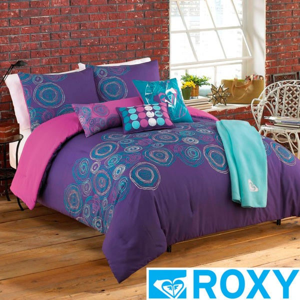 Roxy Caroline 5-piece Comforter Set with Body Pillow and Throw