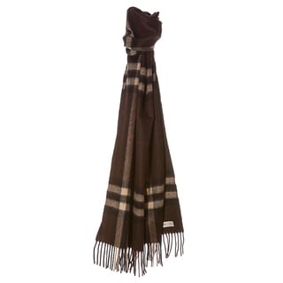 Burberry '3826751' Giant Check Cashmere Scarf