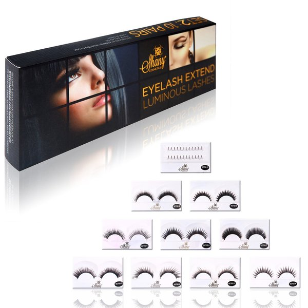 Shany Thick and Dramatic Assorted Reusable Eyelashes 10384063