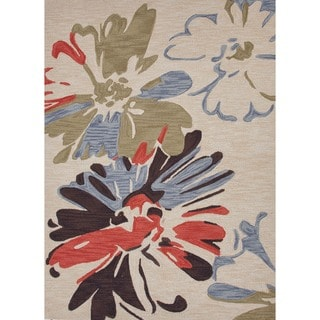 Transitional Multi Color Tufted Rug (7'6 x 9'6)