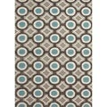 Modern Geometric Tufted Rug (3'6 x 5'6)