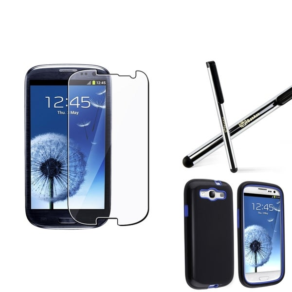 BasAcc Hybrid Case/ Protector/ Stylus for Samsung Galaxy S3/ S III