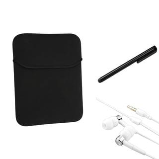 BasAcc Sleeve/ Stylus/ Headset for Apple iPad 2/ 3