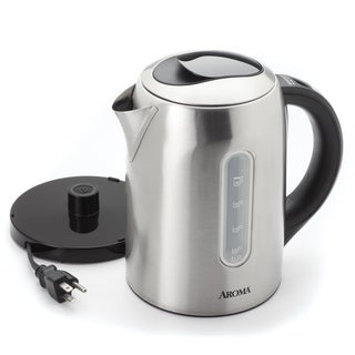 sale aroma stainless steel 6 cup digital electric. Black Bedroom Furniture Sets. Home Design Ideas