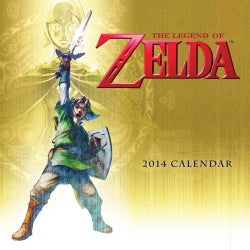 The Legend of Zelda 2014 Calendar (Calendar)