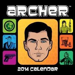 Archer 2014 Calendar (Calendar)