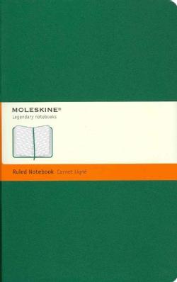 Moleskine Oxide Green Large Ruled Notebook (Notebook / blank book)