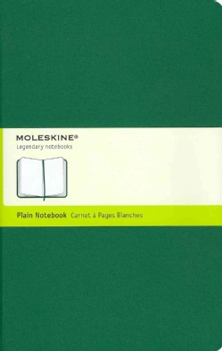 Moleskine Notebook Plain Oxide Green Large (Notebook / blank book)