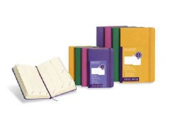 Moleskine 2014 Planner 18 Month Weekly Turntable Brilliant Violet Large (Calendar)