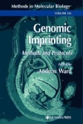 Genomic Imprinting: Methods and Protocols (Paperback)