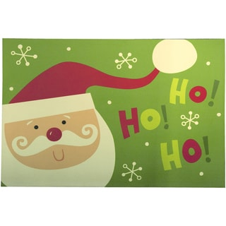 Indoor Ho Ho Santa Cushion Mat