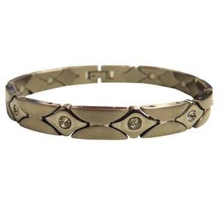 Magnetic Bracelet Diamond CZ Design
