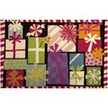 Indoor Bright Christmas Gifts Cushion Mat