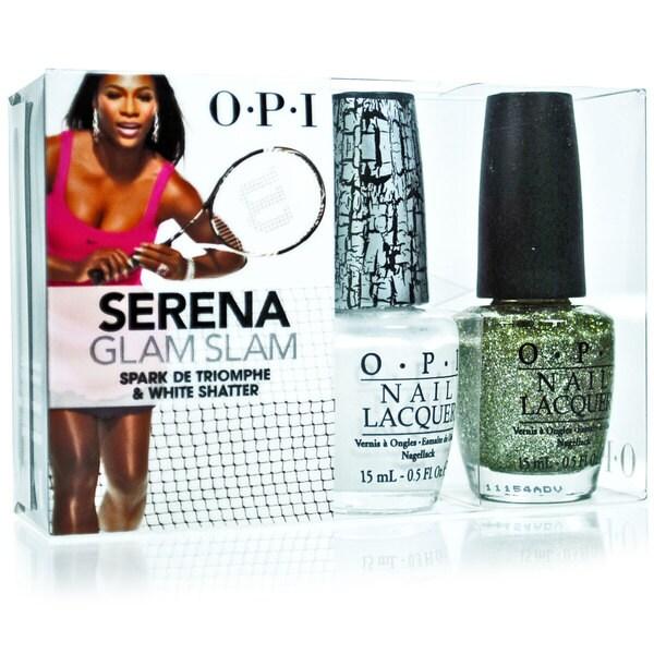 OPI Serena Glam Slam Nail Lacquer Combo Set