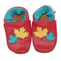 2 Leaves Soft Sole Leather Baby Shoes
