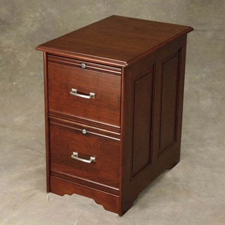 Cherry Two-Drawer File Cabinet