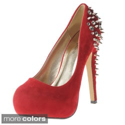 Henry Ferrera Women's Spike Embellished Pumps