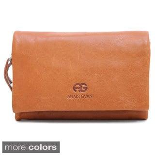 Anais Gvani Women's Leather Contrasting Interior Wallet