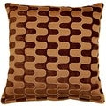 Tingari Chocolate 17-inch Throw Pillows (Set of 2)