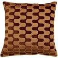 Tingari Chocolate 17-inch Throw Pillows (Set of 2)