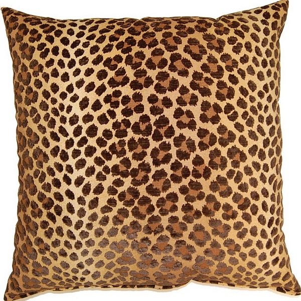 Panther Mink 17-inch Throw Pillows (Set of 2)