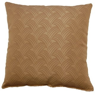 Brush Off Wheat 17-inch Throw Pillows (Set of 2)