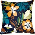Funfloral Marine 17-inch Throw Pillows (Set of 2)