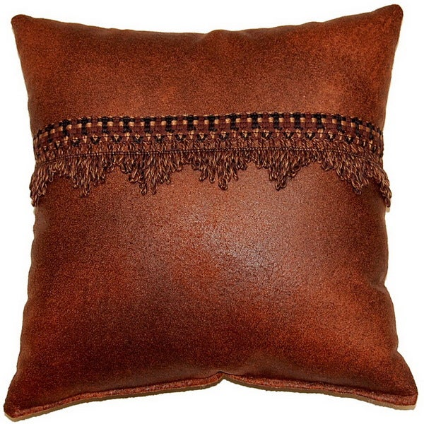 Gangster Spice 17-inch Trimmed Throw Pillows (Set of 2)