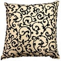 Julia Ebony 17-inch Throw Pillows (Set of 2)